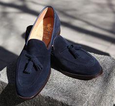 Bunlara bayılıyorum. #loafer #blue #suede #man #shoe