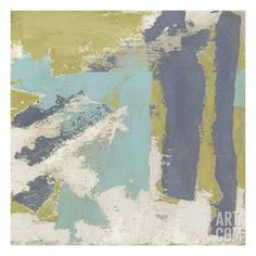 Chelsea Abstract II Premium Giclee Print by Megan Meagher at Art.com