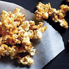 Peanut Butter Caramel Corn | MyRecipes.com Just enough butter for caramel goodness. Peanut butter for heart-healthy richness.