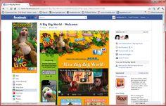 A Big Big World - Facebook fan page ( pre-timeline )