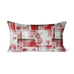 Poduszka CLEO Red Crystal 30x50 Merry Christmas, Throw Pillows, Crystals, Red, Merry Little Christmas, Toss Pillows, Cushions, Merry Christmas Love, Wish You Merry Christmas