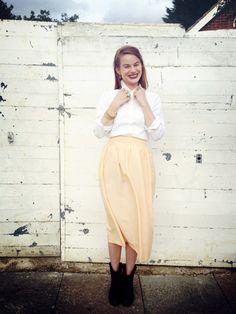 Charlotte's Gathered Skirt -- By Hand London DIY