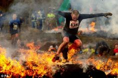 Because regular running is for wimps.  Tough Mudder
