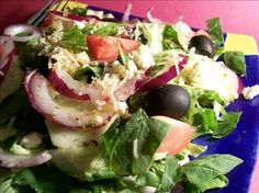I made this a meal by adding some quinao to the salad. The dressing was delicious!