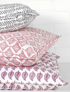 Block Print Cushion Covers   Bohemia Design
