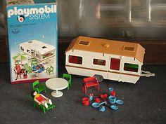 Playmobil caravan, 1977