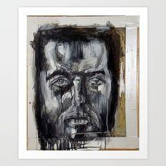 Terry 2 Art Print by Yousef Balat @ Hoop Snake Graphics LLC - $17.00