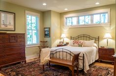 love the high windows | Sugarberry Cottage House Plan by Southern Living