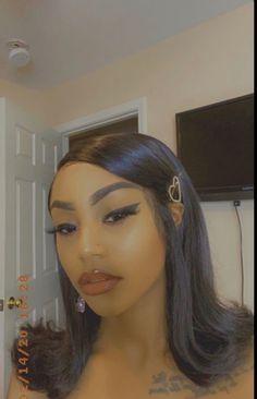 Frontal Hairstyles, Baddie Hairstyles, Braided Hairstyles, Prom Hairstyles, Quick Hairstyles, Everyday Hairstyles, Black Girl Weave Hairstyles, Straight Hairstyles For Long Hair, Classy Hairstyles