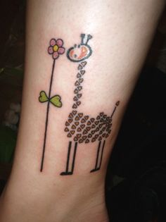 Giraffe of hearts- i wouldnt get this but its really cute!