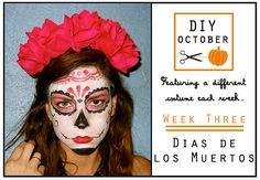 Dias de los Muertos Halloween Costume Tutorial