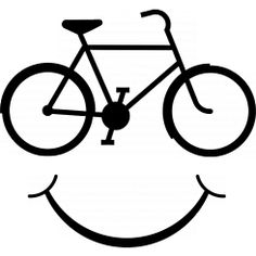 Bike smile - Black - Transpa