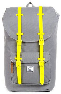 The Little America Weather Pack Backpack in Grey by Herschel Supply  use rep code: OLIVE for 20% off!