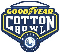 Win a Trip for 2 to the Cotton Bowl Classic in Texas from Goodyear Bowl Logo, Cotton Bowl, Memphis Tigers, Bowl Game, Win A Trip, Wisconsin Badgers, Bowl Designs, Classic, Sports Logos