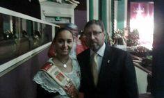 Las Reinas Mayor e Infantil de Segorbe asisten a la Exaltación de las Falleras de Alzira 2015