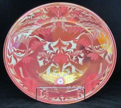 William De Morgan Charger | From a unique collection of antique and modern dinner plates at http://www.1stdibs.com/furniture/dining-entertaining/dinner-plates/
