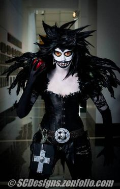 Gender Bend Ryuk From Note By Q Mandolin Of Constellation Cosplay Anime
