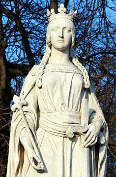 Matilda of Flanders, Queen of England 1031 - 1083 Married to William I, The Conqueror 26th GGM