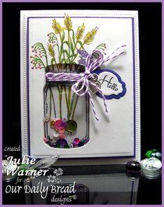 Mason Jar Wildflowers IC484