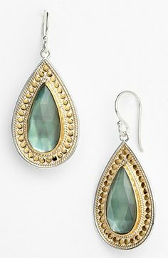 Anna Beck 'Gili' Large Teardrop Earrings available at #Nordstrom
