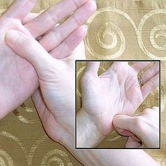 DIY Hand Reflexology Treatment in 10 Easy Steps: Massage Palm of Hand