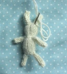 Make your own tiny bunny!