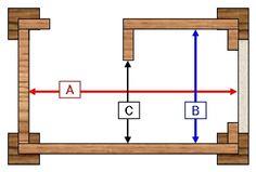 Hale Pet Door security barrier internal dimensions graphic