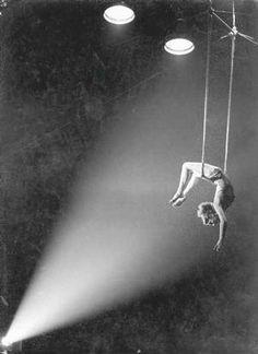 Circus trapese artist …