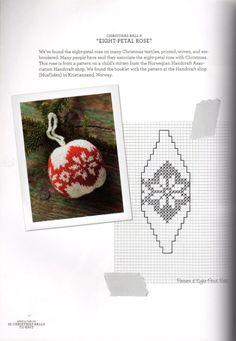 Gallery.ru / Фото #21 - 55 Christmas Balls to Knit. - Marina-Melnik