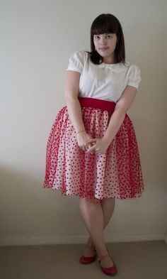 Frocks and Frou Frou Heart Skirt Tutorial