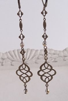 These are the lightest earrings you will ever wear! They are long and dangling but not obtrusive at all!    INSPIRATION   I love anything that