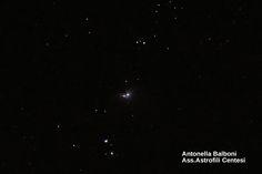 10 febbraio 2015 - La spada di Orione - obiettivo 70/300 canon eos 1200d con inseguimento da telescopio.