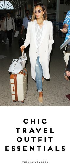 A shopping guide to everything you need for chic, celebrity-approved travel style