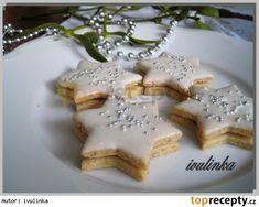 Mandlovo-skořicové hvězdičky Xmas Food, Christmas Baking, Christmas Cookies, Manicure At Home, Diy Manicure, Graham Crackers, Feta, Waffles, Food And Drink