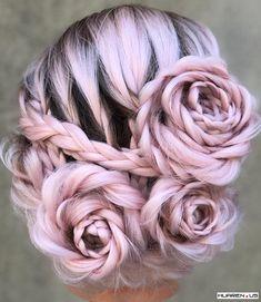 Rose bun