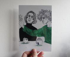 Folk Goth: st-pam:   I have added new prints to my Etsy shop!...