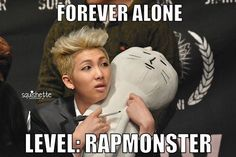 RapMonster BTS macros He's not alone he has me 👌 Rapmon, Bts Bangtan Boy, Namjoon, Kdrama Memes, Bts Memes, Quotev Quizzes, Kpop Quiz, Fandom Kpop, Musica