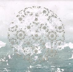 Ocean's Firmament Giclée Print by PaperThought on Etsy, $35.00