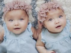 Taytum and Oakley Fisher, adorable twin girls! Children of Kyler and Mad