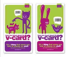 Varsity V-card loyalty campaign 02 for students poster