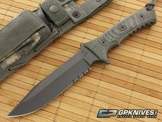 Chris Reeve Pacific Fixed Knife