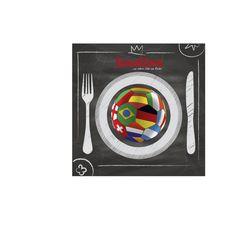 foodies WM-Küche: mit Rezepten aus Frankreich: Pignoli-Tartelettes und Honduras: Tortitas sowie Gruppencocktails