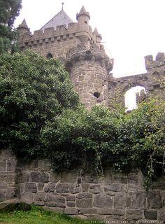 Löwenburg Castle in Bergpark Wilhelmshöhe  ~ Kassel, Germany
