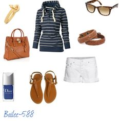 This outfit would be awesome for a day at the beach/lake