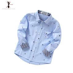 2016 White Pink Blue Yellow Casual Letter Boys Clothes Shirts Ropa Ninos Children Long Sleeve Blouses 5013