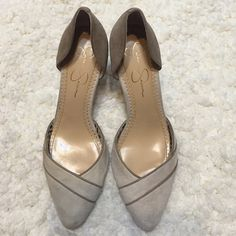 Jessica Simpson heels Only worn a few times! Jessica Simpson Shoes Heels
