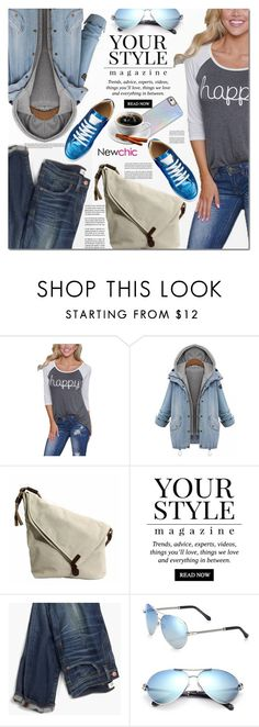 """""""NewChic 7"""" by barbarela11 ❤ liked on Polyvore featuring Pussycat, Madewell, Roberto Cavalli and lovenewchic"""