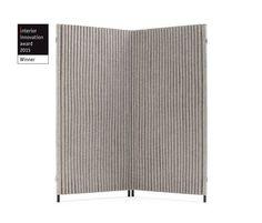 Akustikobjekt und Paravent WELLE von HEY-SIGN bei Schwadke Büroeinrichtung: Der Paravent Welle strahlt eine angenehme Ruhe aus. 3 mm starker Wollfilz wird ...