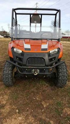 Used 2013 Polaris Ranger 800 EFI Mid-size Nuclear Sunset L ATVs For Sale in Missouri.