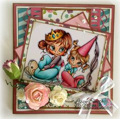 Queenie and Princess by Saturated Canary from Quick Creations #quickcreations